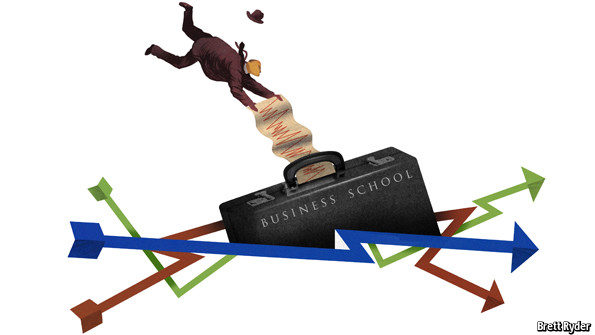 Schumpeter: Those who can't,