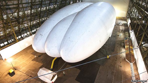 Inflated ideas: Reviving airships | The Economist