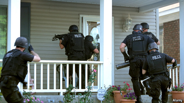 COPS OR SOLDIERS? AMERICA'S POLICE HAVE BECOME TOO MILITARIZED…