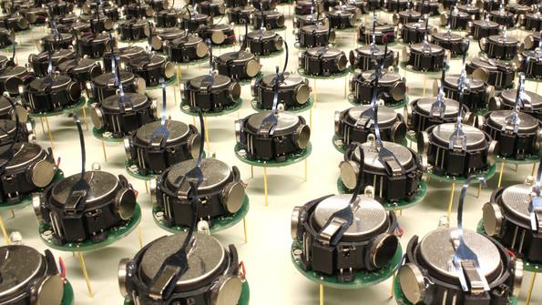 Robotics: The march of the kilobots