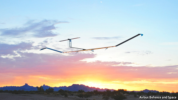 Pseudo-satellites: The west wind blows afresh