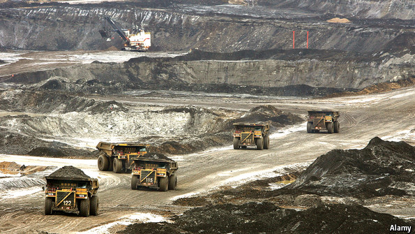 Canada's oil sands: The steam from below