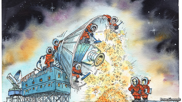 Astrophysics: Dust to dust | The Economist