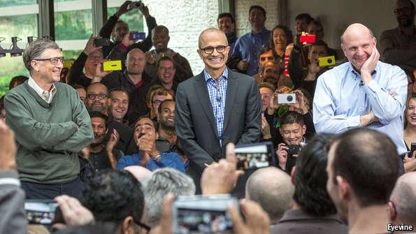 Microsoft's undoing of its past.