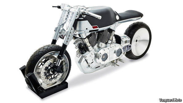 A new motorcycle brand springs from a computer