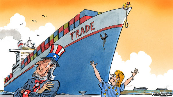 As the world sours on trade, the EU sweetens on it