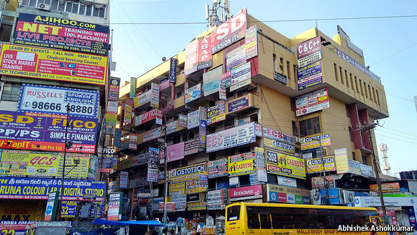 Ameerpet, India's unofficial IT training hub