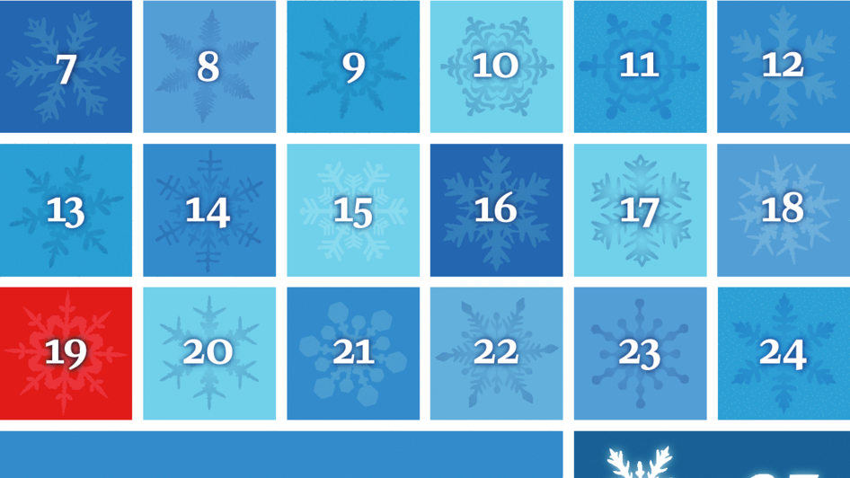 Our 2014 Advent calendar