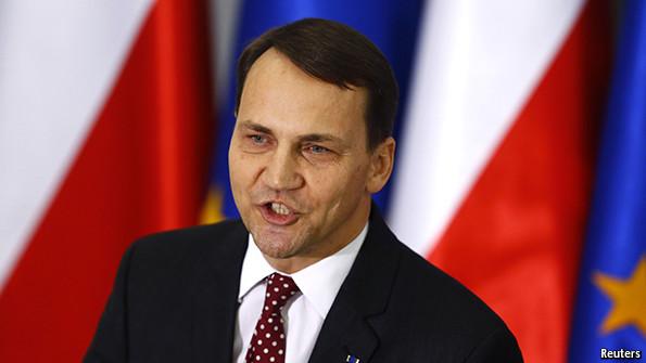 Former Polish foreign minister Radek Sikorski