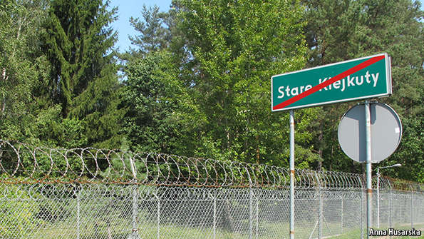 The CIA's former Polish black site