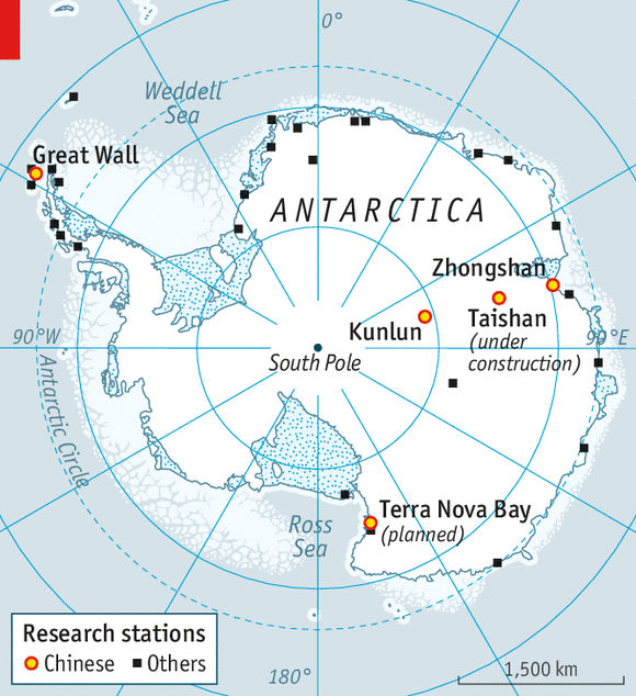 China and Antarctica Hot ambitions in an icy climate