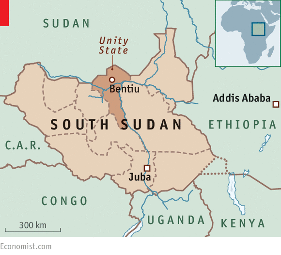 South Sudan - Magazine cover