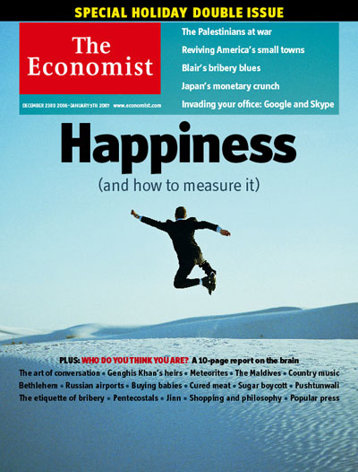 Happiness And How To Measure It The Economist