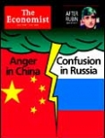 Anger in China, confusion in Russia