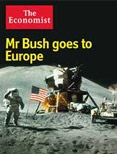 Mr Bush goes to Europe
