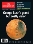 George Bush's grand but costly vision