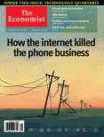 How the internet killed the phone business