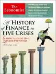 A histroy of finanace in five crises, The Economist cover 12th April 2014
