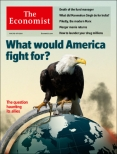 What would America fight for, Economist cover May 3rd 2014