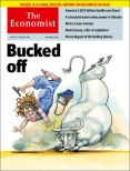 Bucked off, The Economist cover 31st May 2014