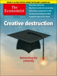 Creative destruction, Economist cover 28th June 2014