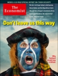 Don't leave us this way, The Economist cover 12th July 2014