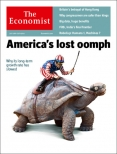 America's lost oomph, The Economist cover 19th July 2014