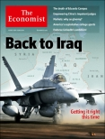 Back to Iraq, Economist cover 16th August 2014