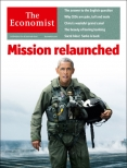 Mission relaunched, Economist cover 27th September 2014