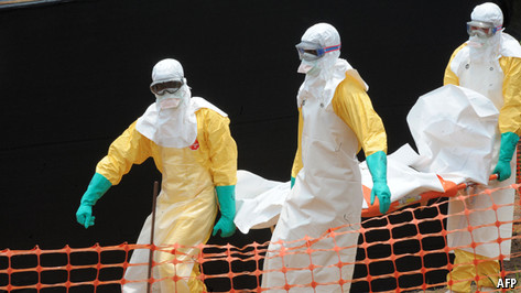 Containing ebola outbreaks