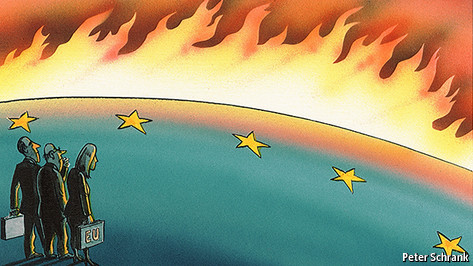 Europe's ring of fire