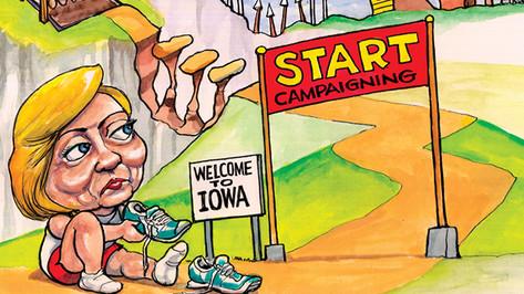 Hillary in Iowa