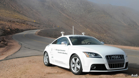 Humans v driverless cars