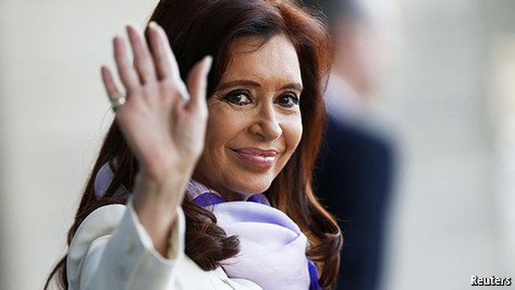 Cristina's long farewell