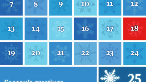 Our 2014 Advent calendar