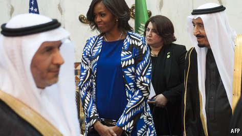 Saudi Arabia's dress code