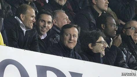 David Cameron's own goal