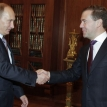 Putin and Medvedev riding high