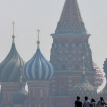 Sweltering in Moscow