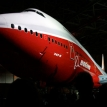 Boeing celebrates the birth of its biggest baby