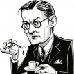 T.S. Eliot's mild anxiety and startling braggadocio