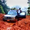 The rain in Monrovia
