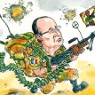 François Hollande's new war trappings