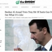 Bashar Assad buys onion
