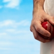 How do you tamper with a cricket ball?