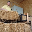 Why are straw houses making a comeback?