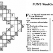 Who invented crosswords?