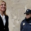 Princess Cristina holds court