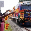 Slow train through Jaffna