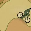 The cycle lane